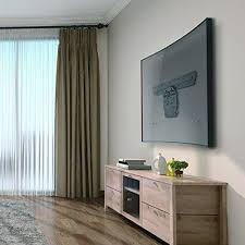 curved tv on wall. Plain Curved WALI Samsung Micro Gap TV Wall Mount Bracket Exclusively For 4965  Inches Q7 To Curved Tv On