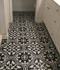 Black And White Patterned Floor Tiles Fascinating Black And White Floor Tiles Sydney Kitchen Bathroom Tile Sydney