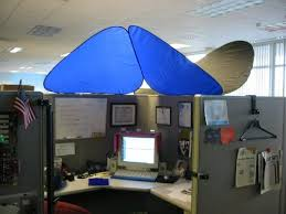 cool office cubicles. Plain Office Office Roof With CubeShield Office Cubicle  Coolest Cool Cubicles V