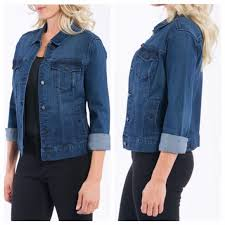 Liverpool Jeans Kolten Denim Jacket Soft Nwt