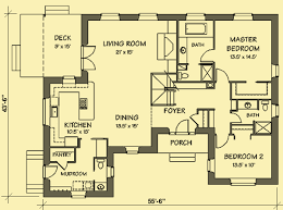 Large Country Home Plan Dashing Bedroom Floor Plans Two House Country Floor Plans
