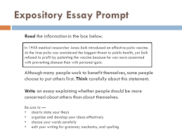 staar formatted expository essays ppt video online expository essay prompt