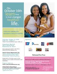 flyers forum african american mens and womens health forum flyers