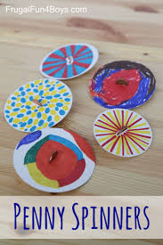 fun crafts for tweens pinterest. penny spinners \u2013 toy tops that kids can make! fun crafts for tweens pinterest
