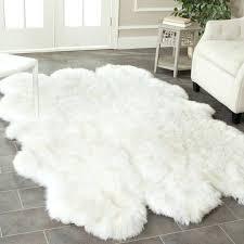 entranching sheepskin rug ikea of faux home design ideas latest fur local 10
