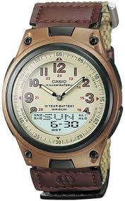 lowest price for casio standard analog digital watch for men casio standard analog digital watch for men brown price in