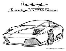Lamborghini Coloring Pages Coloring Pages Of Cars 9 Free