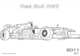 200 Kleurplaat Formule 1 Red Bull Kleurplaat 2019