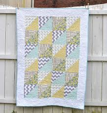 Quick Triangles Baby Quilt | Triangles, Babies and Half square ... & Quick Triangles Baby Quilt Adamdwight.com