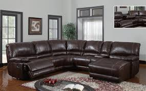 leather sectional sofa with recliner and chaise  tehranmix decoration