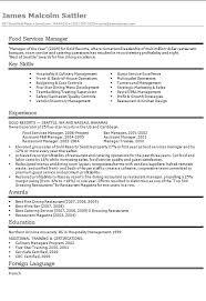 food services manager cvrsum example how to write a cv how to write a cv or resume