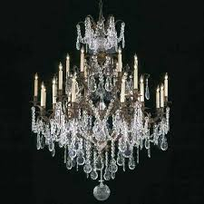 how to clean crystal chandelier without taking it down new