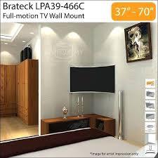 corner tv wall mount 70 inch inch full motion wall mount bracket