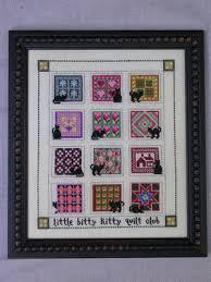 Val's Stuff Little Bitty Kitty Quilt - Nov & Dec - Cross Stitch ... & Little Bitty Kitty Quilt - Nov & Dec - Cross Stitch Pattern Adamdwight.com