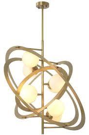 Casa Padrino Designer Kronleuchter Antik Messing Weiß 92 X 80 X H 80 Cm Luxus Qualität