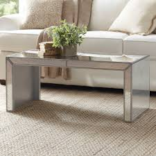 birch lane elliott mirrored coffee table u0026 reviews wayfair lajovtu