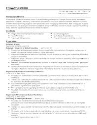 Leadership Resume Professional Cultural Studies Graduate Templates To Showcase Your 43