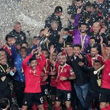 2 colors puma x cloud9 game day men's jersey. Al Ahly 2 1 Zamalek 2020 Caf Champions League Final Fifa Com