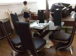 interior genuine leather dining chairs attractive real designer chair grey white and black uk cool