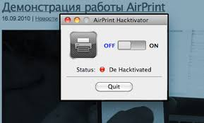 airprint ipad not working