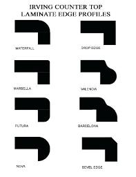 formica laminate countertop edges edges laminate edges profiles formica laminate countertop