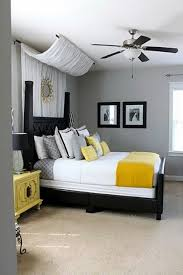 Black And Yellow Bedroom Ideas 3