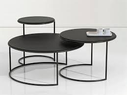 round black coffee table. Metal Coffee Table Design By Tisettanta Lab. Round Black Coffee E