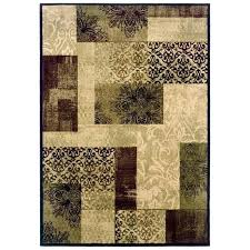 allen and roth rugs area rugs cream rectangular transitional area rug pertaining to rug furniture s allen and roth rugs