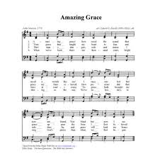 Bagpipe Finger Chart Amazing Grace Amazing Grace How Sweet The Sound Play Piano