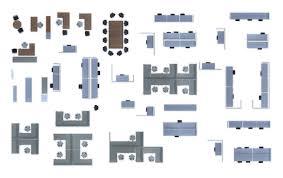 floor plan office furniture symbols. 90 Furniture Top View 2d Fabulous Floor Plan Symbols Office I