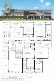 mediterranean house plans with interior courtyard new house plans and design modern with pool courtyard kerala