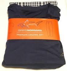 Details About New Greg Norman Mens Premium V Neck And Pants Lounge Set Size 2xl