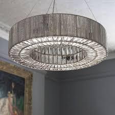 silver round beatrice chandelier