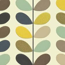 living room orla kiely multi: multi stem wallpaper seagreen walmst seagreen multi stem wallpaper seagreen