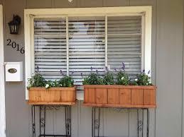 kitchen window box ideas planter plants curtains over sink