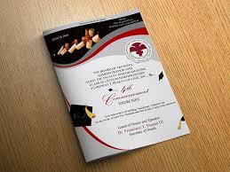 Graduation Cover Photo Graduation Program Covers On Behance