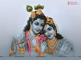 Radha Krishna Black and White Wallpaper ...
