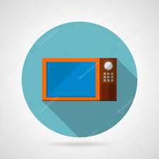 Modern Microwave modern microwave oven flat vector icon stock vector 1123 by guidejewelry.us