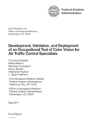 Faa Medical Eye Exam Chart Pdf Development Validation And Deployment Of An