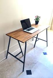 standing table ikea malaysia this listing is for a hand finished desk on ikea trestle legs standing computer