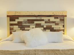 Making Bedroom Furniture How To Make A Headboard Out Of Pallets Pallet And Plywood