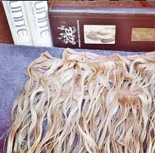 drying hair extensions