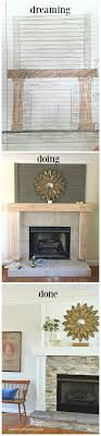 Diy Fireplace Makeover Ideas Diy Fireplace Makeover At Home With The Barkers