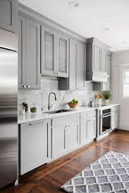 Shaker style kitchen cabinet painted in Benjamin Moore 1475 ...