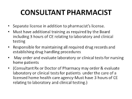 Pharmacist Consultant Florida Pharmacy Law Review Ppt Download