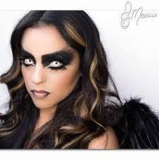 fallen angel makeup for