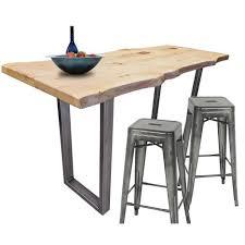 u shaped welded steel table leg set