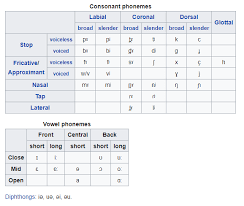 This page allows you to easily type phonetic transcriptions of english words in the international otherwise, phonetic symbols may not display correctly. Is Irish Really A Language Urban Citizen Blog