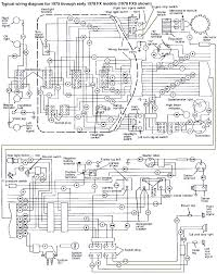 wiring diagram for harley davidson the wiring diagram harley shovel  1975 1978 harley davidson fx fxe wiring