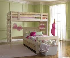 L Shaped Bunk Bed with Storage Drawers